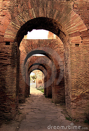 Arches on Palatine Hill, Rome