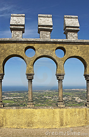 Arches of Pena palace