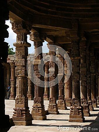 Arches at Qutab Minar,New Delh