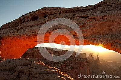 Arches by sunrise