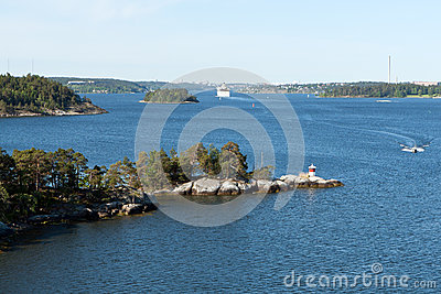 Archipelago near Stockholm