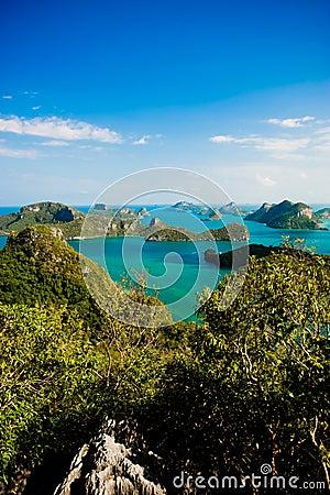 Free Archipelago Of Ang Thong Stock Photo - 8558800