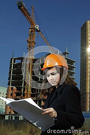 Architect on build area