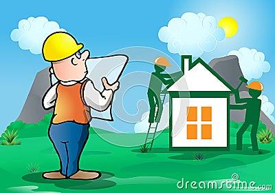 Architect build house