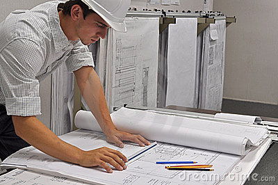 Architect Reviews Plans