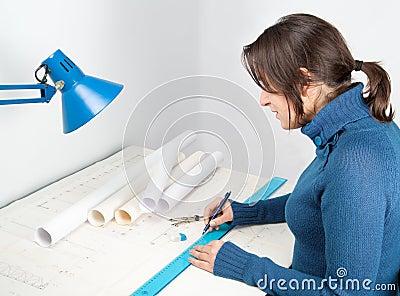 Architect at work