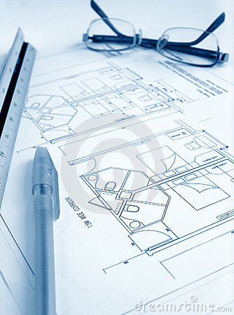 Free Architect Work Table Royalty Free Stock Image - 8344566