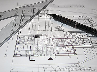 Architects making plan