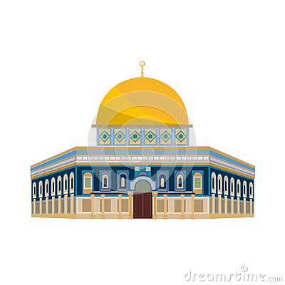 Free Architectural Building. Architecture, Monuments, Landmark. Mosque: Dome Of Church - Jerusalem. Stock Photography - 103689092