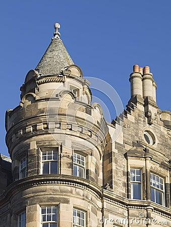 Architectural detail in Edinburgh