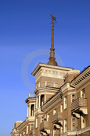 Architectural detail. The House by the Spire