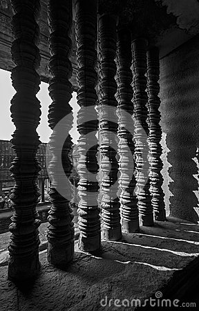 Architectural details of Angkor Wat, Cambodia