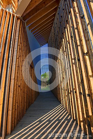 Free Architectural Interior Lines And Geometric Figures Royalty Free Stock Photography - 118599597