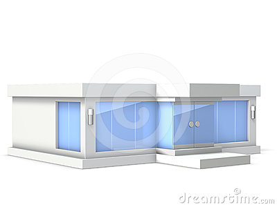 Architectural Model of  showroom