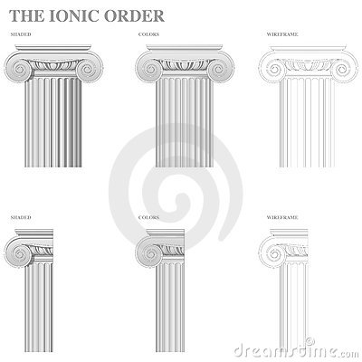 Architectural Order - Ionic
