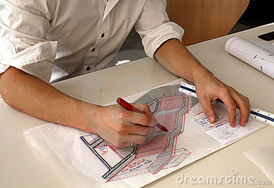 Architecturale schets