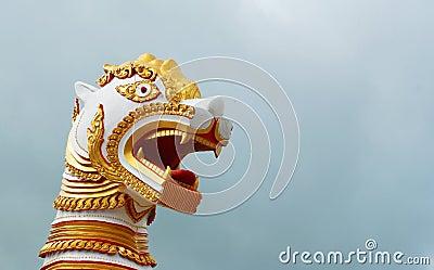 Architecture of burmese lion
