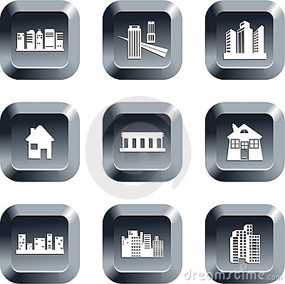 Architecture buttons