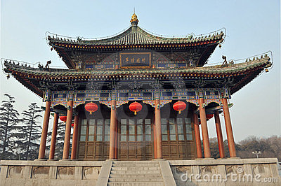 Architecture chinoise photographie stock image 4363412 for Architecture chinoise