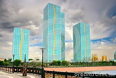 Architecture in city