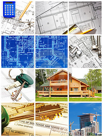 Free Architecture Collage Stock Image - 15666401