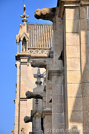 Architecture detail of Catholic church