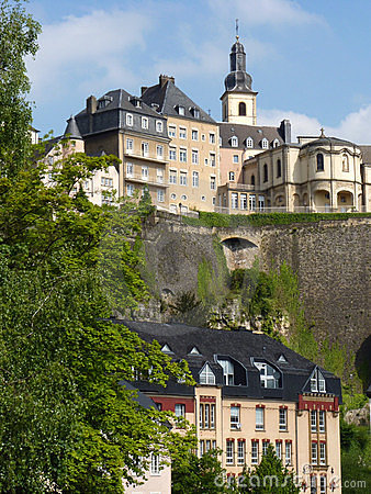 Architecture du luxembourgeois