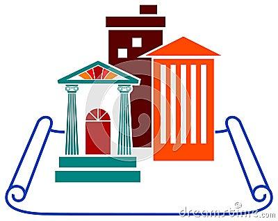Architecture emblem