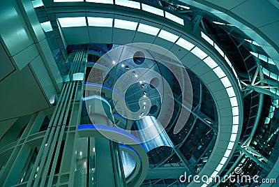 Architecture futuriste images libres de droits image for Architecture futuriste