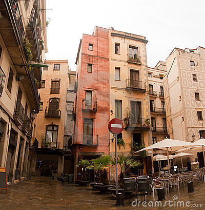 Free Architecture Gotic Quarter Barcelona Royalty Free Stock Photography - 23776787