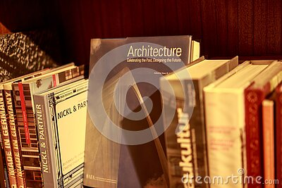 Architecture Hardback Book On Shelf Free Public Domain Cc0 Image