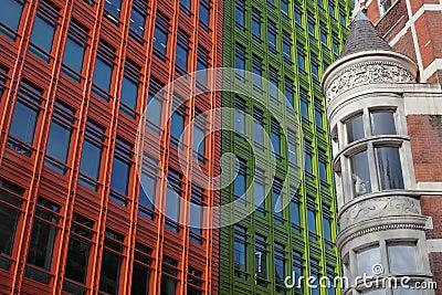 Architecture historique et moderne londres photo stock for Architecture moderne londres