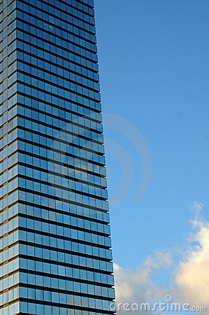 Architecture Image of Skyscraper with Copy Space