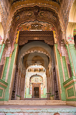 Architecture indienne type inde photos libres de droits for Architecture indienne