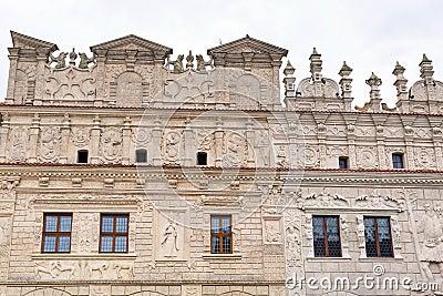 Architecture of Kazimierz Dolny at Vistula river