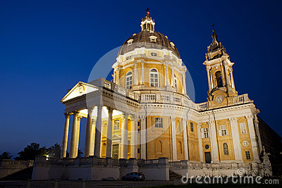 Architecture masterpiece Torino Superga