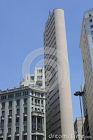 Architecture moderne et vieille