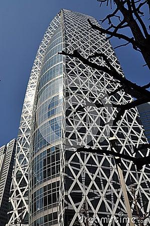 Architecture moderne japonaise construisant dans shinjuku for Architecture japonaise moderne