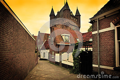 The architecture in Netherlands