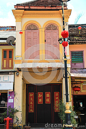 Free Architecture Of  Chinatown Royalty Free Stock Photos - 58162698