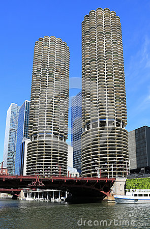 Free Architecture On The Chicago River Stock Images - 25079394