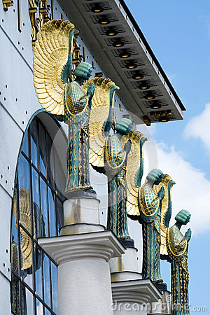 Free Architecture Otto Wagner Vienna Stock Photos - 41677423