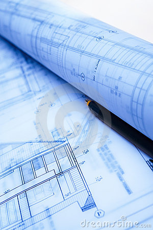 Architecture Paperwork Stock Images - Image: 20182574