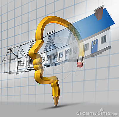 Architecture planning stock images image 36882074 for Stages of home construction