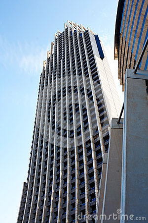 Architecture of the tallest hotel in Europe