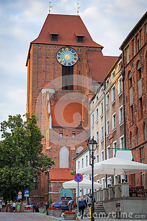 Architecture of Torun old town