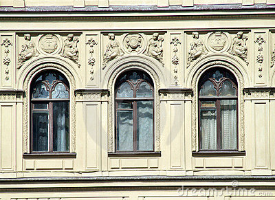 Architecture - windows and decorations