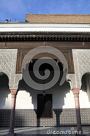 Architectuur met Arabische stijl