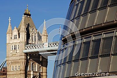 Architektoniczny kontrast