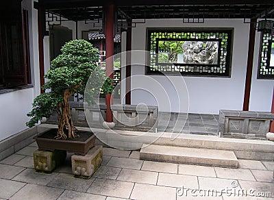 Architektur der chinesischen Art